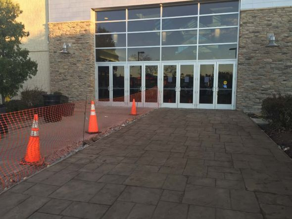 Manassas Weekly Progress Update 11 20 15 entrance concrete