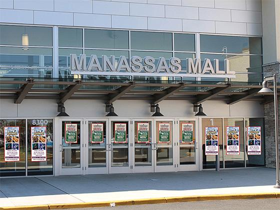 Manassas Window Clings