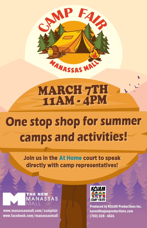 Camp Fair Flyer