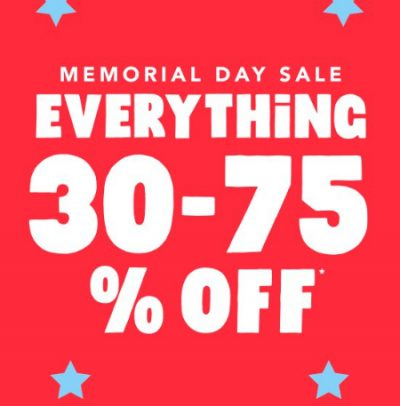 Mem. Day Sale