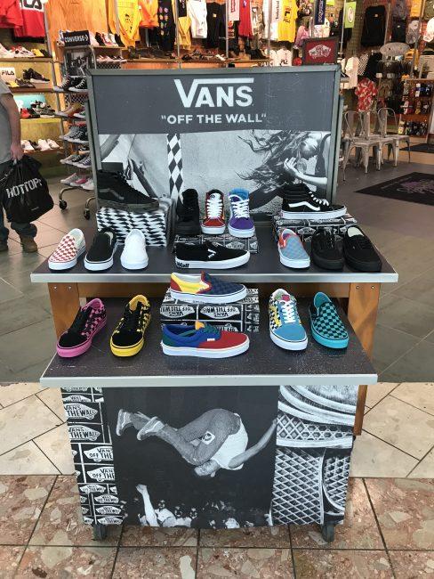 Shoe Display Photo