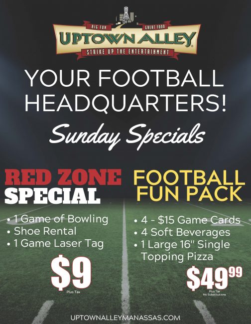 Sunday Game Day Promotion