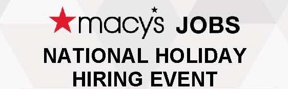 National Holiday Hiring Header