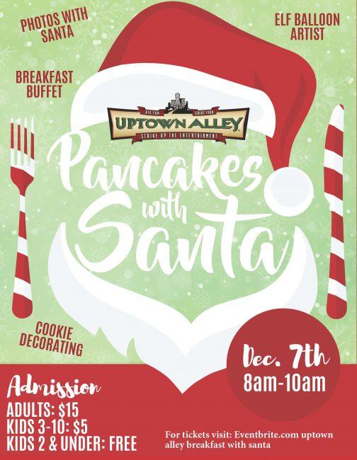 2019 Santa Breakfast Signage final