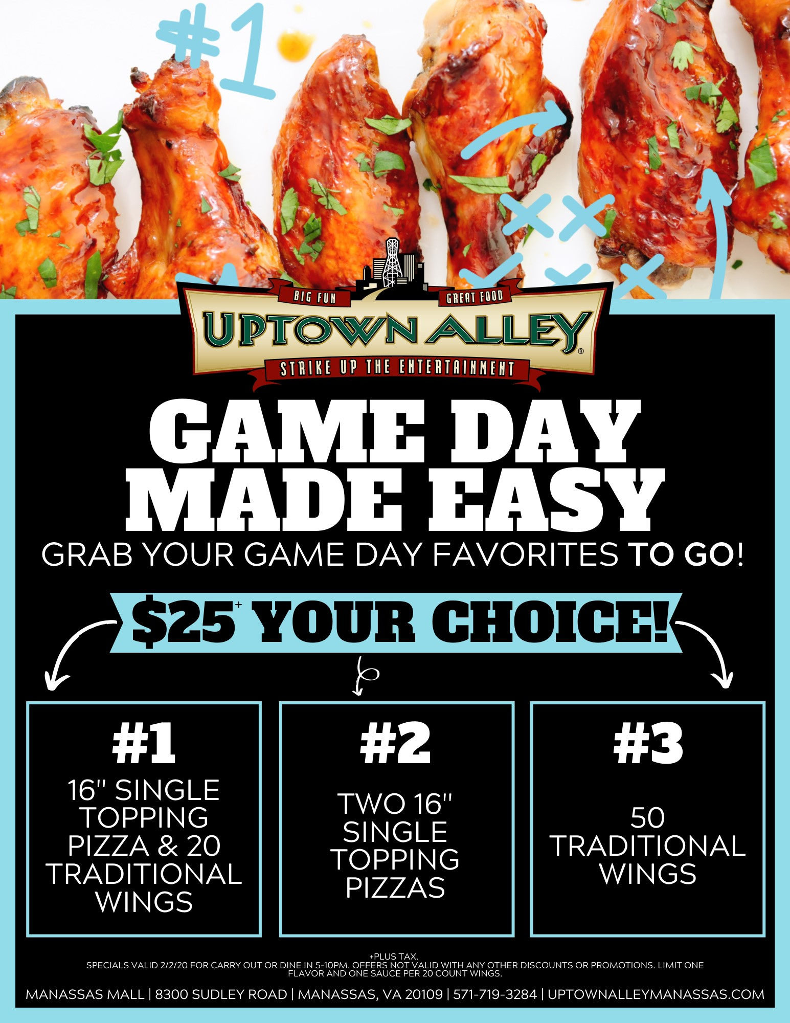 Game Day Wing Offer