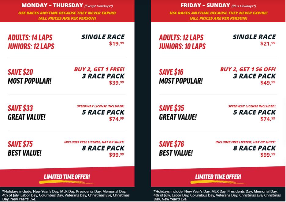 Mon. Thurs. Race Promo 1