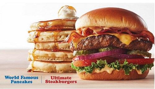 Burger Pancake Image