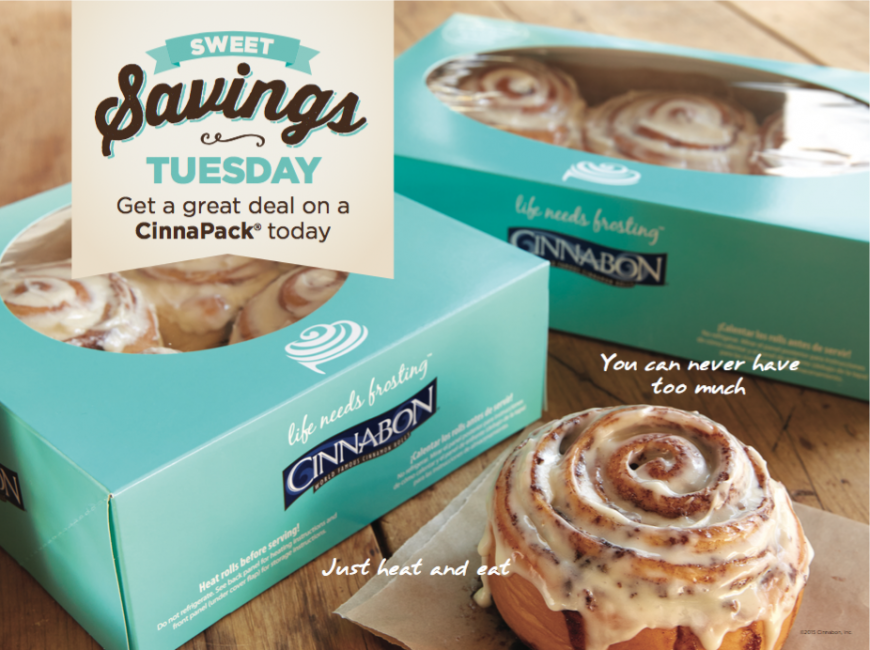 Sweet Saving Tuesdays