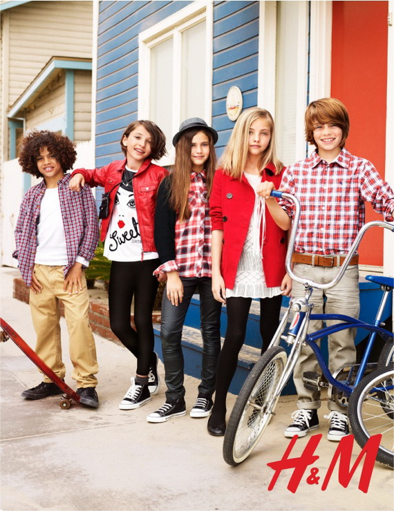 HM Kids Back to School Fall Collection 3