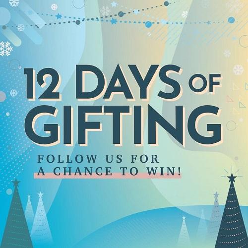 12 Days of Gifting Webiste image