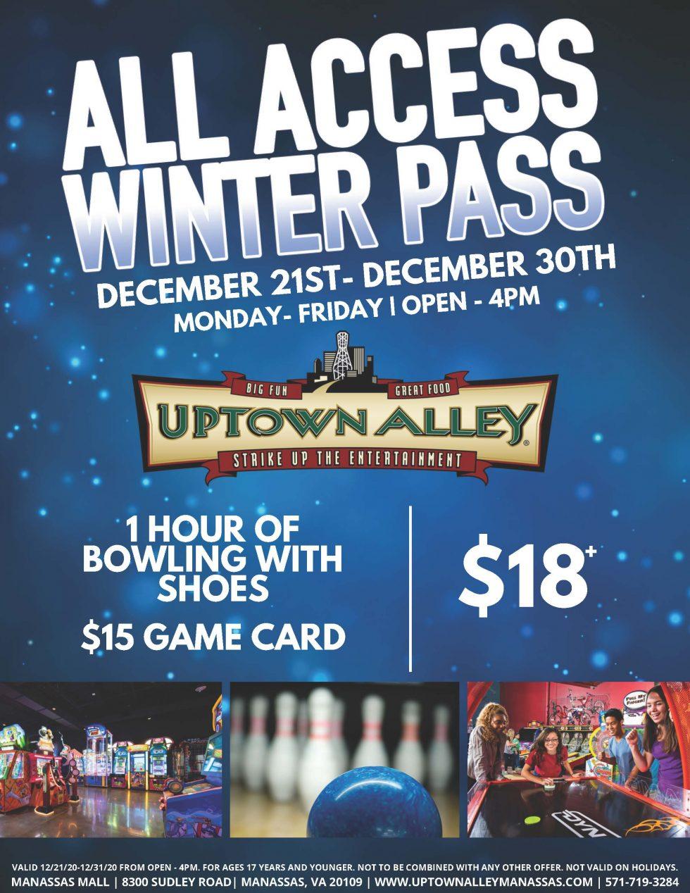 Winter Access Pass Dec. 21 30