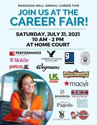Career Fair 2021 Flyer