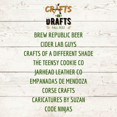 Crafts n Drafts IG VENDORS 1 1